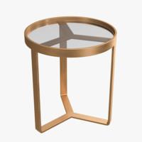 aula table 3D model