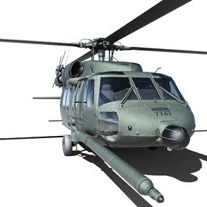 3D uh-60 blackhawk uh60