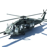 3D uh-60 blackhawk uh60