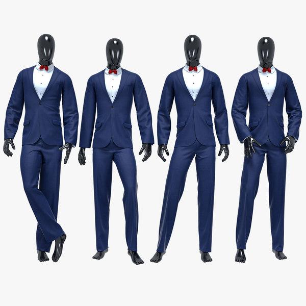 3D male suit