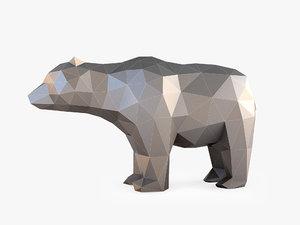 bear stl 3D model