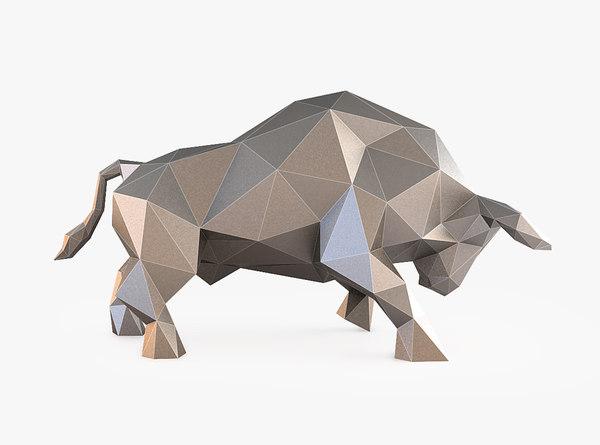 bull stl 3D model