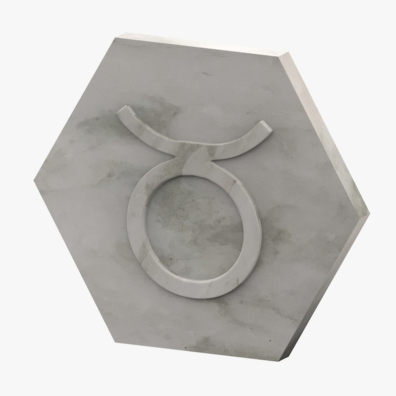 marble taurus 3D model