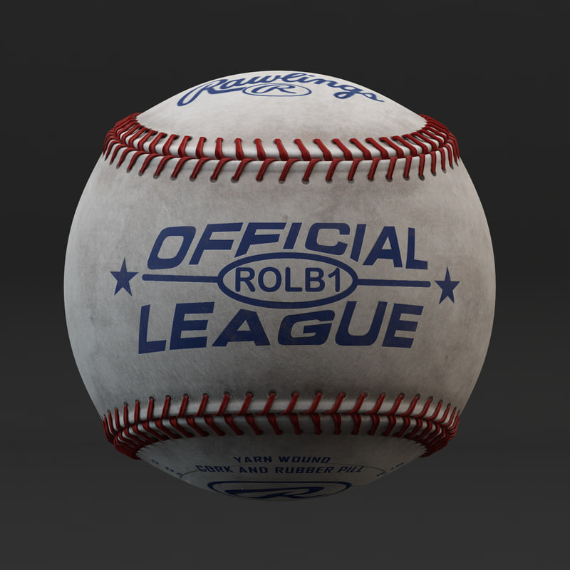 3D rawlings rolb official league