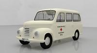 framo truck 3D model
