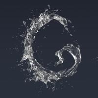 3D letter g model