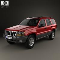 jeep cherokee grand 3D model