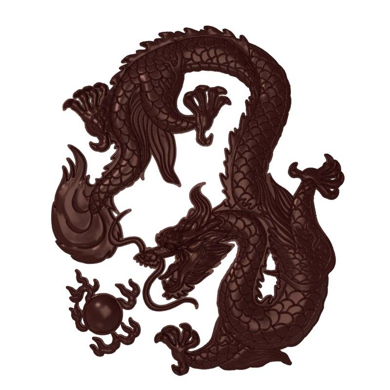 bas chinese dragon ball 3D