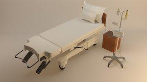 3D ldr room bed
