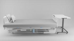 hospital bed 1 model