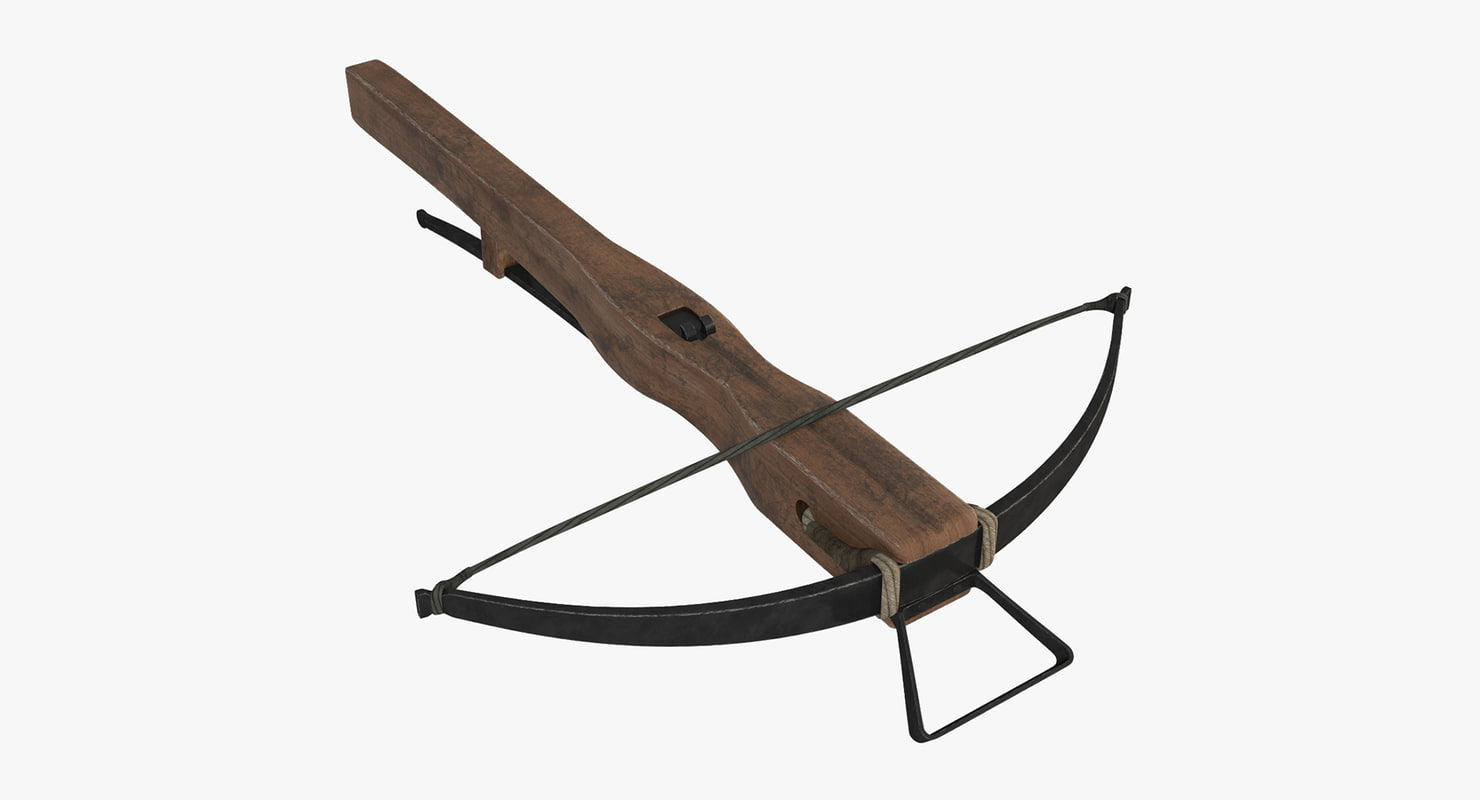 3D medieval crossbow weapons - TurboSquid 1151974