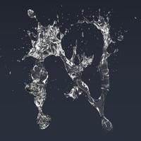 letter splash model