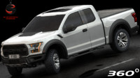 Ford F-150 Raptor 2017 (Low Interior)