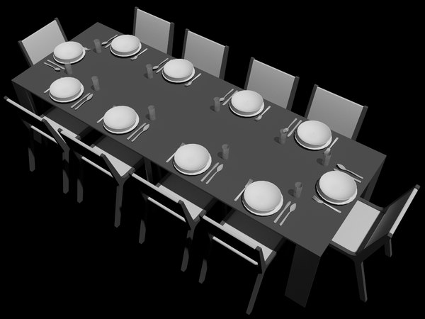 goliath table 3D model