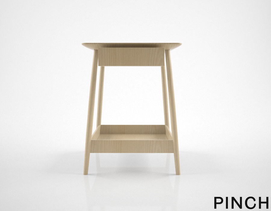 pinch harlosh bedside table 3D model