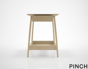 pinch harlosh bedside table 3D model