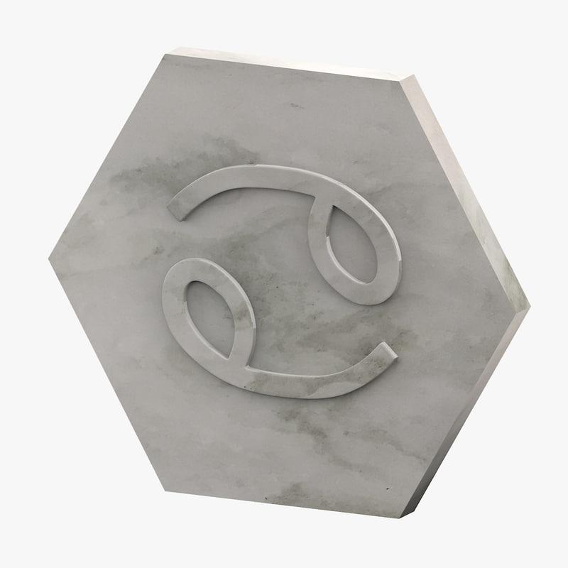 marble cancer 3D model