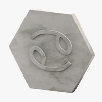 marble cancer 3D model