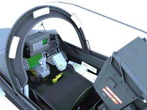 gripen cockpit 3D