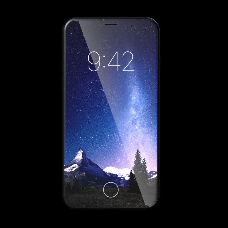 3D apple iphone x 2017 model