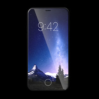 3D apple iphone x 2017 model