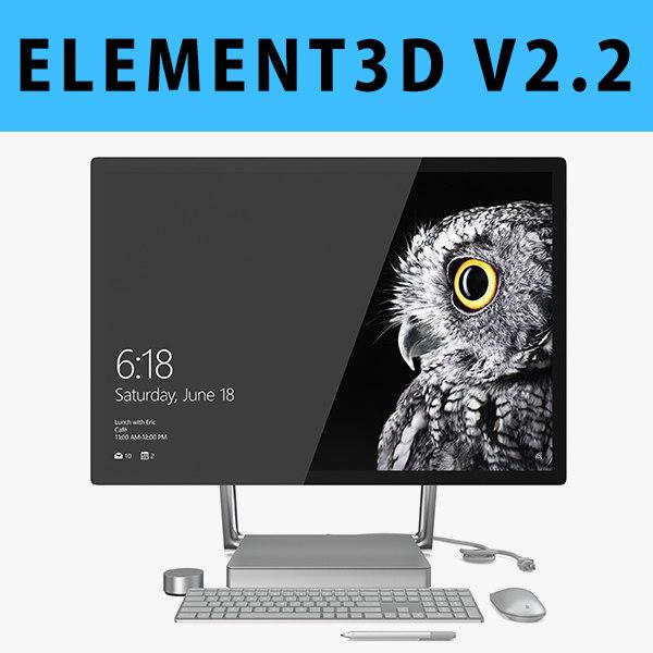 3D model - e3d 3