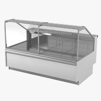 3D refrigerated case