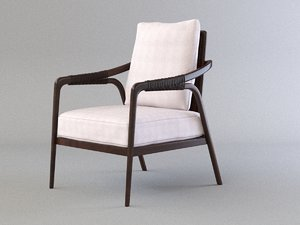 knot lounge chair mcguire model