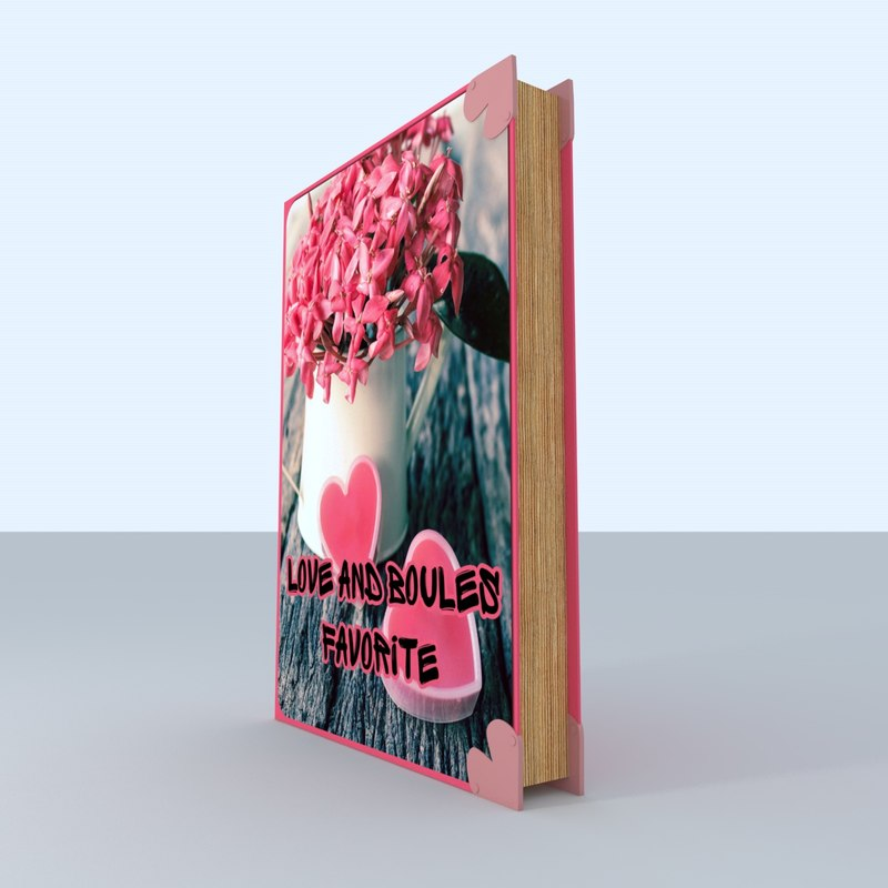 3D book love