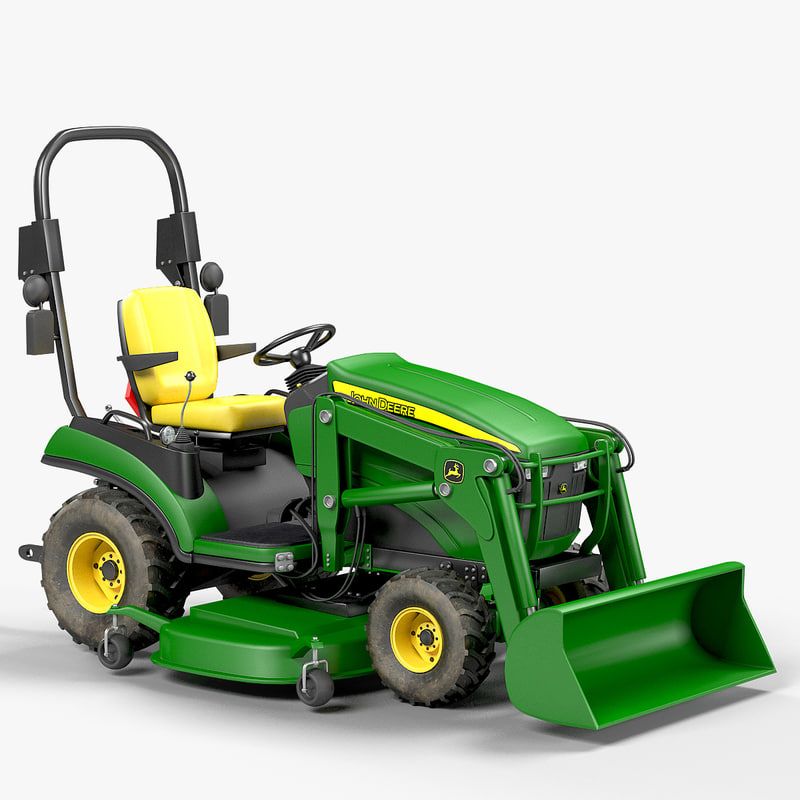 sub-compact utility tractor 1025r 3D model