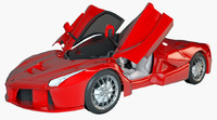 ferrari laferrari super 3D model