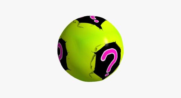 mystery ball 3D model