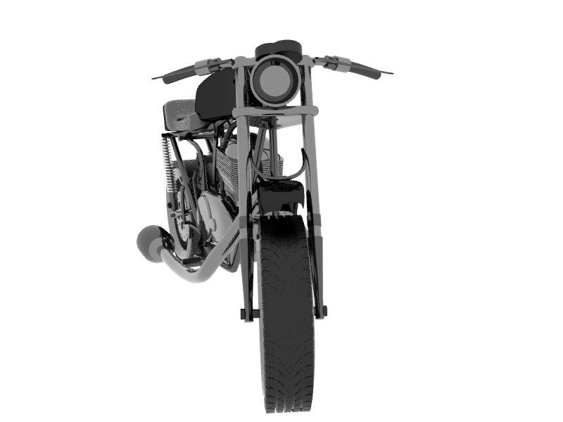3D moto d model