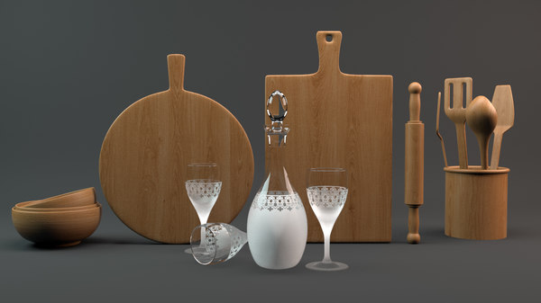 3D kitchen starter kit