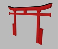 6 japanese arch known 3D