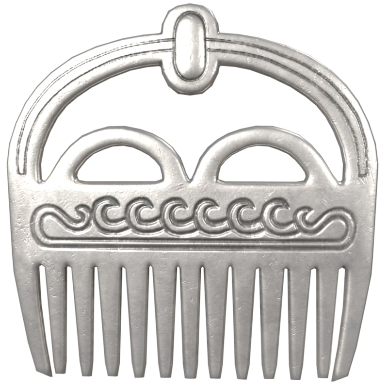 modeled comb model