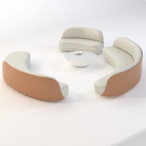 3D model ramy fischler place colombie