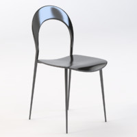 rider dining chair 3D