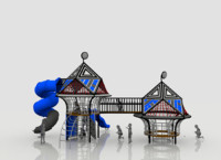 hex-play structure playground 3D model
