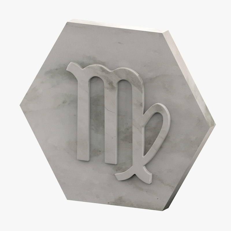 marble virgo 3D model