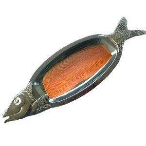 3D salmon plate