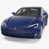 tesla s modeled 2017 3D model