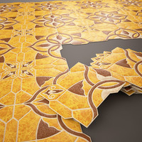 3D ceramic tile emigres puzzlemi model