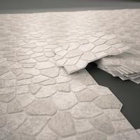 ceramic tile emigres puzzlemi 3D