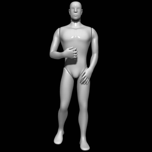 mannequin man 3D model