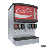 3D soda machine model