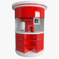 clever kitchen 3D model
