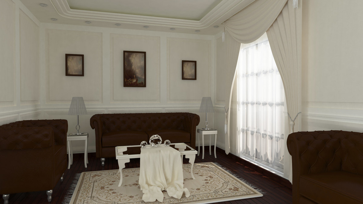 reception room 3D