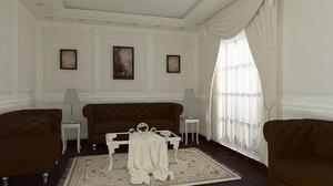 reception room 3D