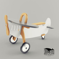 3D airplane toy child